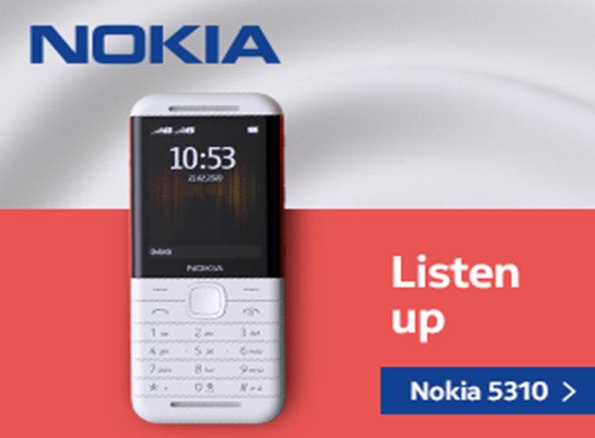 नयाँ एक्सप्रेस म्यूजिक फोन 'नोकिया ५३१०' बजारमा, मूल्य ५ हजार ४ सय